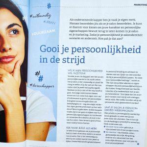 Mijn interview in de ANKO over personal branding voor salons